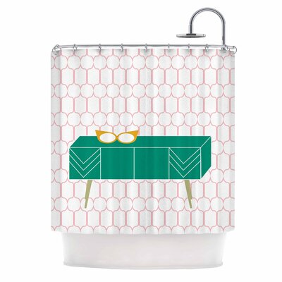 Bridgette Burton Credenza Madness Shower Curtain