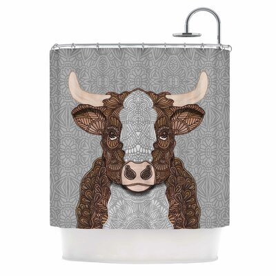 Art Love Passion Gustaf the Bull Shower Curtain