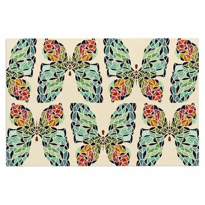 Art Love Passion Butterfly Doormat