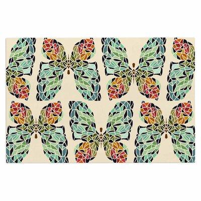 Art Love Passion Butterfly Doormat
