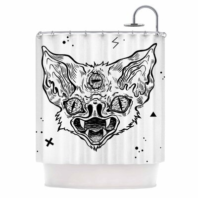 Anya Volk Its Bat Shower Curtain