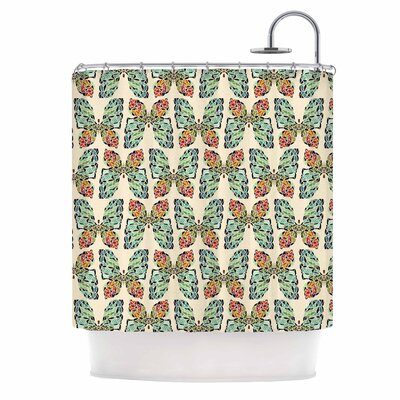 Art Love Passion Little Butterflies Shower Curtain