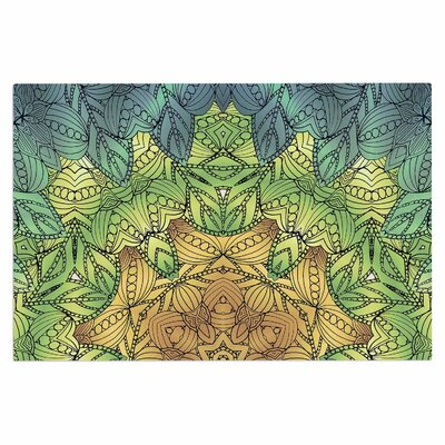 Art Love Passion Celtic Flower Geometric Doormat