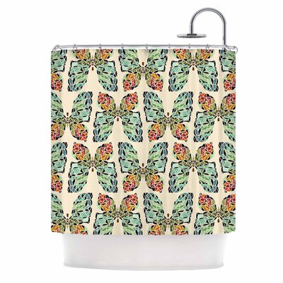 Art Love Passion Butterfly Shower Curtain