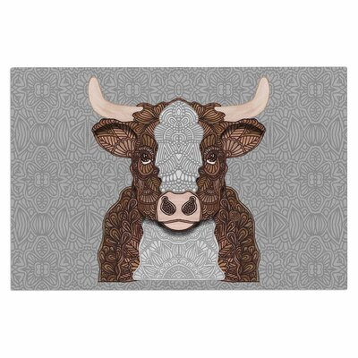 Art Love Passion Gustaf the Bull Doormat