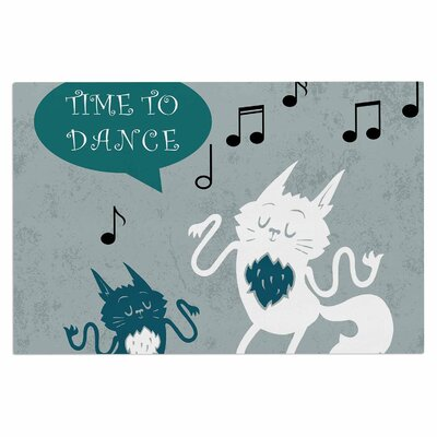 Anya Volk Time to Dance Doormat