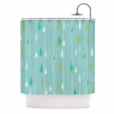 Bridgette Burton Feathered Rain Shower Curtain