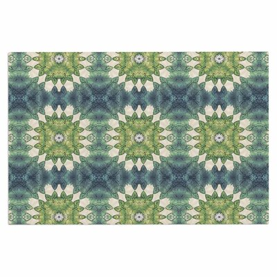 Art Love Passion Forest Leaves Geometric Doormat