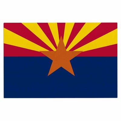 Bruce Stanfield Flag of Arizona Doormat
