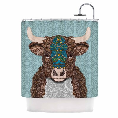 Art Love Passion Bennie - the Bull Shower Curtain