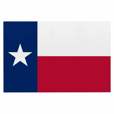 Bruce Stanfield Flag of Texas Doormat