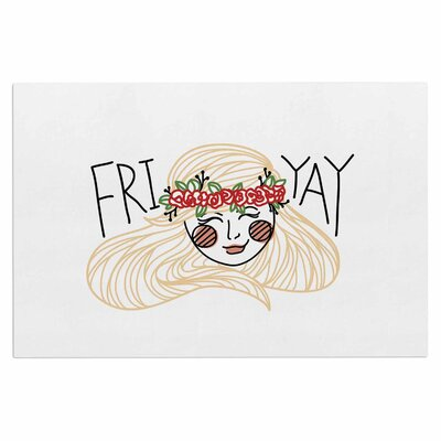 Busy Bree Fri-Yay People Doormat