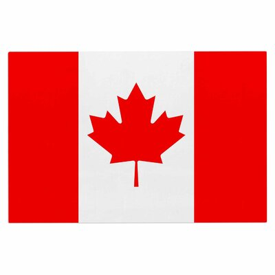 Bruce Stanfield Flag of Canada Doormat