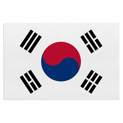 Bruce Stanfield Flag of Korea Digital Doormat