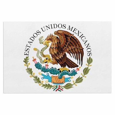 Bruce Stanfield Mexico Emblem Doormat