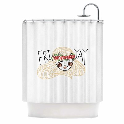 Busy Bree Fri-Yay People Shower Curtain
