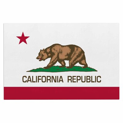 Bruce Stanfield California State Flag Doormat