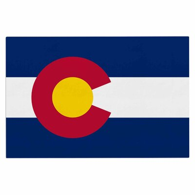 Bruce Stanfield Colorado State Flag Doormat