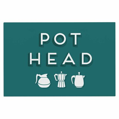 Busy Bree Pot Head Digital Doormat
