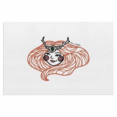 Busy Bree Oh Deer Illustration Doormat