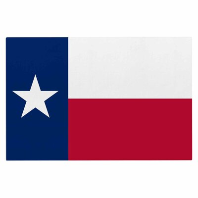 Bruce Stanfield Texas Flag Doormat