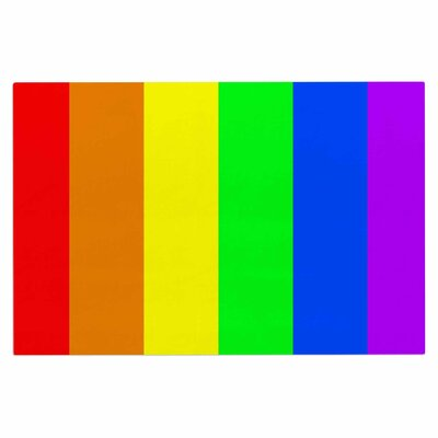 Bruce Stanfield Rainbow Stripe Digital Doormat