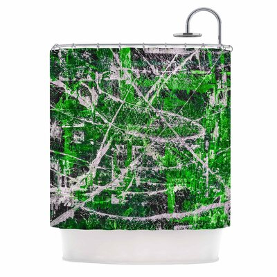 Bruce Stanfield Jade Shower Curtain