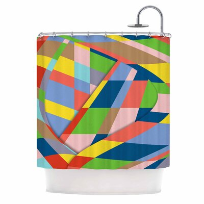 Bruce Stanfield Layers #19 Digital Shower Curtain