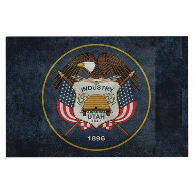 Bruce Stanfield Vintage Utah Doormat