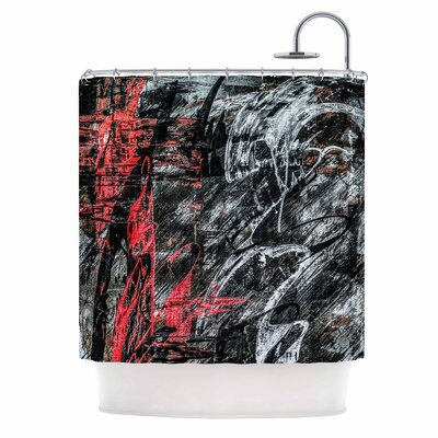Bruce Stanfield Areus Abstract Shower Curtain