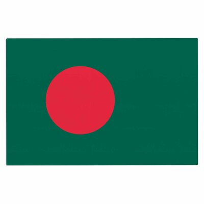 Bruce Stanfield Flag of Bangladesh Digital Doormat