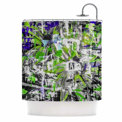 Bruce Stanfield Life Through Adversity 2 Abstract Shower Curtain