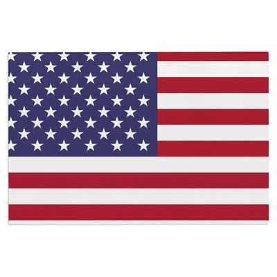 Bruce Stanfield Flag of USA Contemporary Digital Doormat