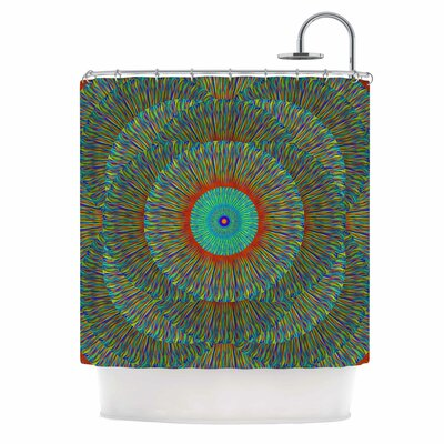 Bruce Stanfield Aztec Art Deco Shower Curtain