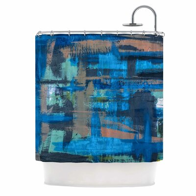 Bruce Stanfield Hyper Shower Curtain
