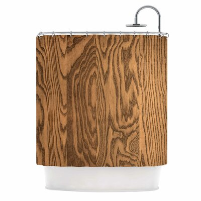 Bruce Stanfield Wood Grain 5 Photography Shower Curtain