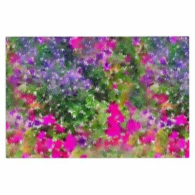 Carolyn Greifeld Water Florals Doormat
