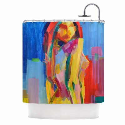 Cecibd Violeta Shower Curtain