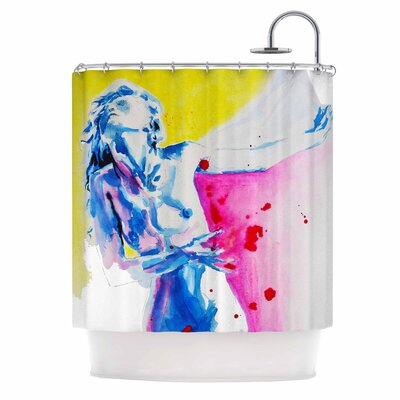 Cecibd Painful Love Shower Curtain