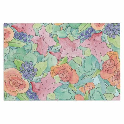 Catherine Holcombe Southwestern Floral Doormat