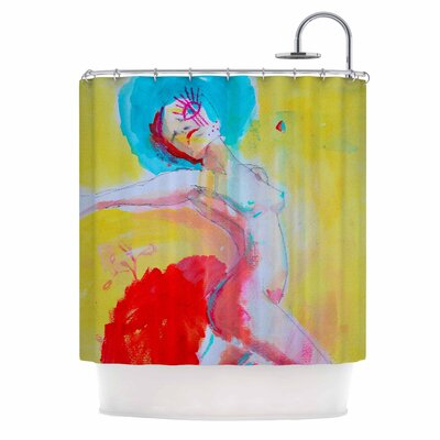Cecibd Circus Illustration Shower Curtain