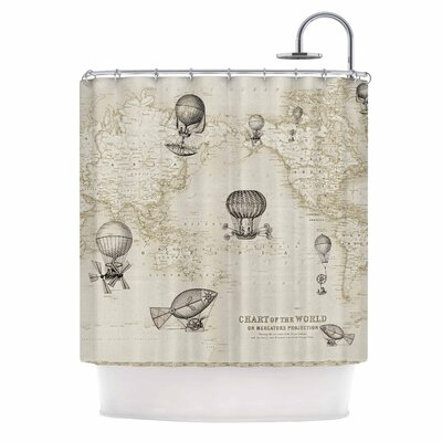 Catherine Holcombe the Southern Route Shower Curtain