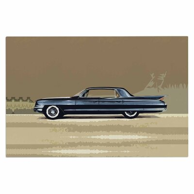 Bruce Stanfield Cadillac Flee2od 1961 Digital Doormat