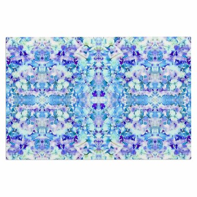 Carolyn Greifeld Floral Fantasy Reflection Doormat