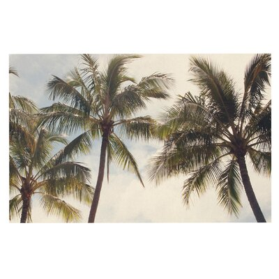 Catherine McDonald Boho Palms Coastal Trees Doormat