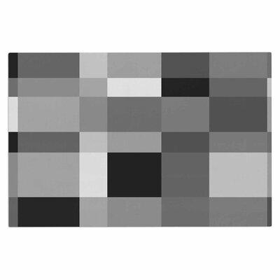 Bruce Stanfield Monotone Cubed Digital Doormat