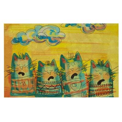 Carina Povarchik S ing ing Cats Doormat