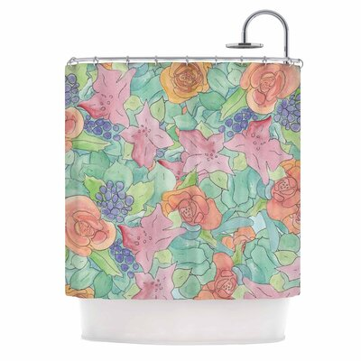 Catherine Holcombe Southwestern Floral Shower Curtain