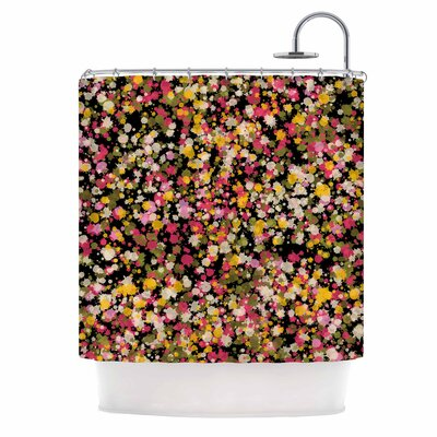 Carolyn Greifeld Splotchity Celestial Shower Curtain
