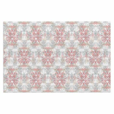 Carolyn Greifeld Damask Splatter Doormat